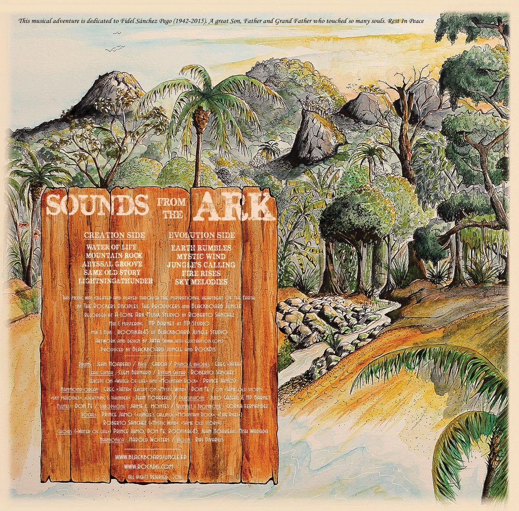 Sounds from the Ark - sleeve back